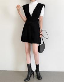 Girlish layered dress