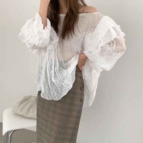 Brona lace blouse