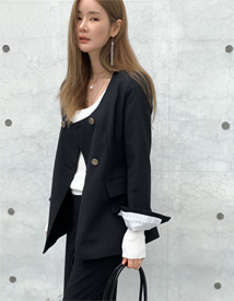 Mood line double jacket