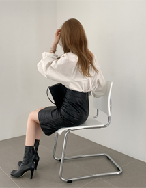 Fave shirring blouse