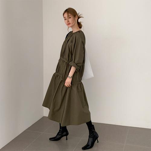 Jessica shirring dress