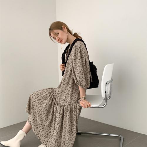 Alyssa puff dress