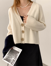 Juicy wool cadigan
