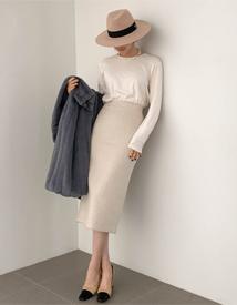 Vela alpaca skirt