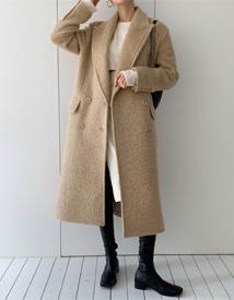 Glynn wool coat
