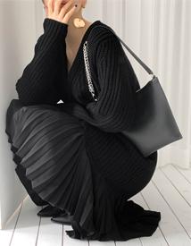 Bold knit cadigan