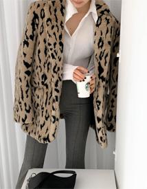 Weldon leopard jacket