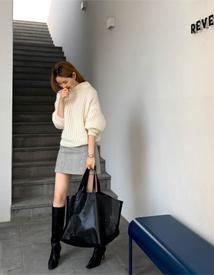 Revien wool skirt