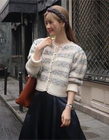 Multi knit cardigan *10월 초 입고예정*