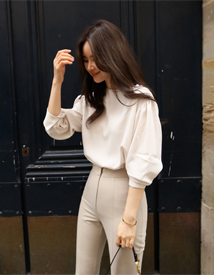 Blossom simple blouse