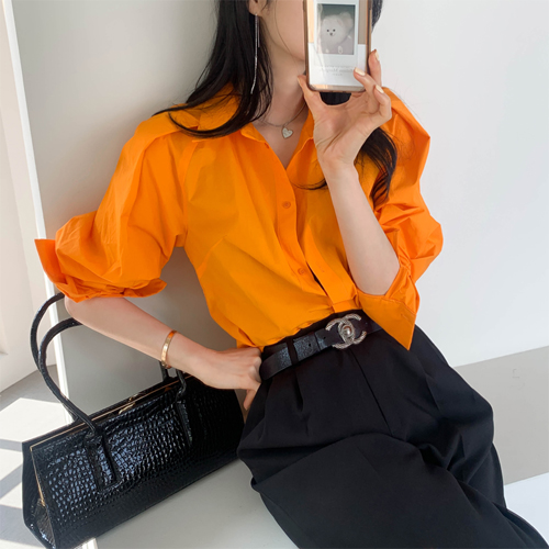 Glowing blouse