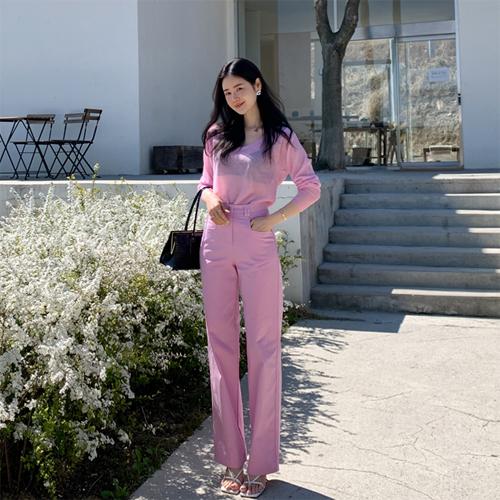 Spring color pants