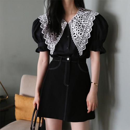 Rachal collar blouse