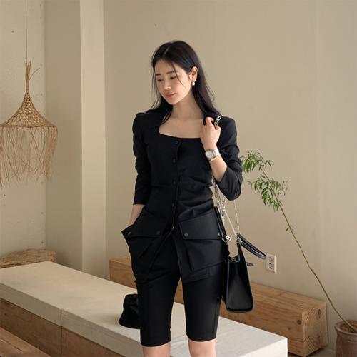 Unique square jacket