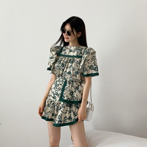 Irene flower blouse