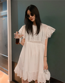 Wendy lace dress