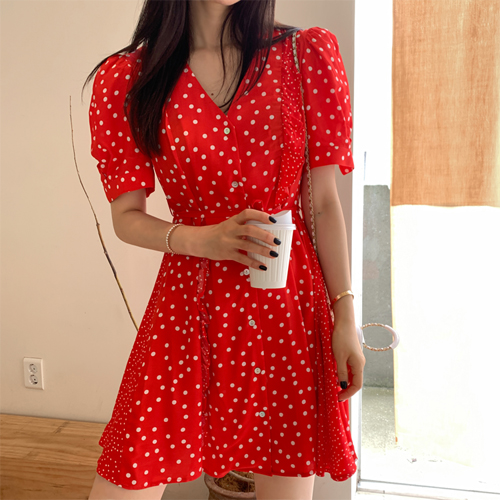 Ebb dot dress