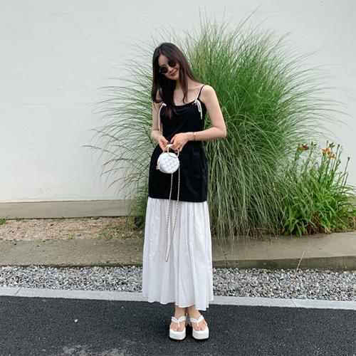 Rope layered dress
