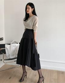 Toast wide skirt