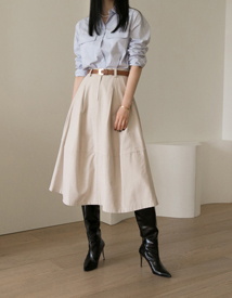Volume flare skirt