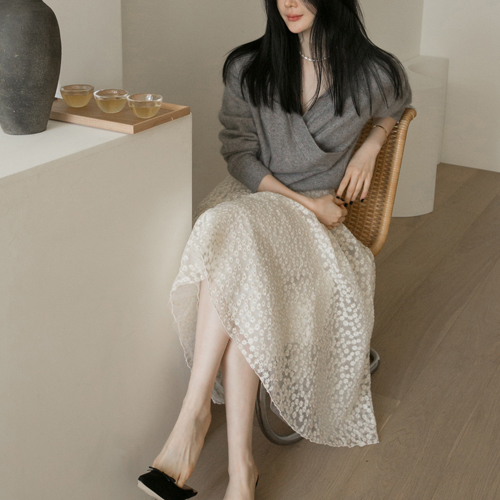 Flower sha skirt
