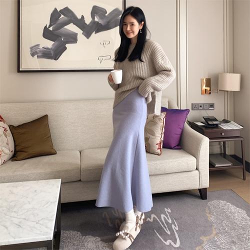 Affair knit skirt