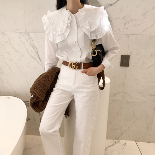 Frill cong blouse