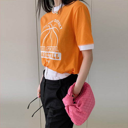 Basket ball tee