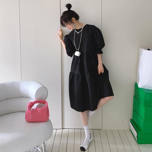 Meringue Jacquard dress *3월 15일 입고예정*