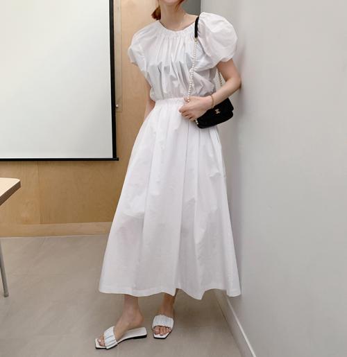 Swan volume dress