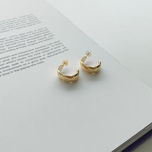 Comb earring *7月13日入库*