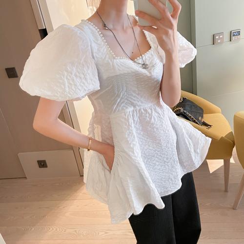Jinju square blouse