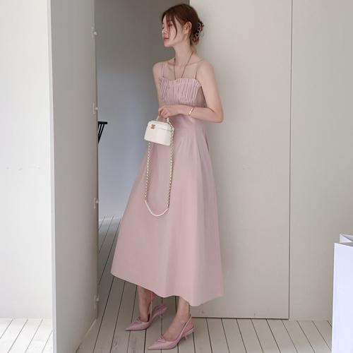 Pleats top dress