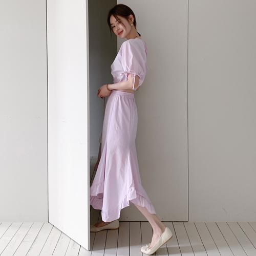 Berni frill skirt