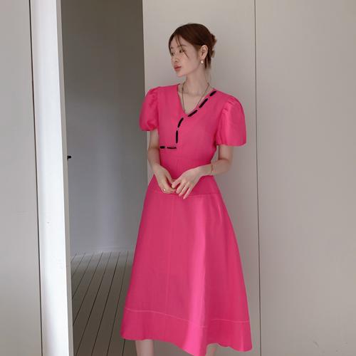 Allen puff dress
