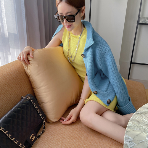 Knit sleeveless dress(9月10日之后入库)